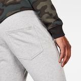 G-Star RAW® Air Defence Zip 3D Slim Sweatpants Grey model back zoom