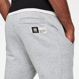 G-Star RAW® Baseball Sweatpants Grey model back zoom