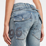G-Star RAW® 5620 Heritage Embro Tapered Jeans Light blue