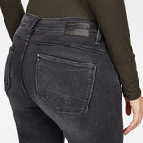 G-Star RAW® Lhana High Super Skinny Jeans Grey