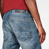G-Star RAW® Jeans 5650 3D Relaxed Tapered Azul intermedio model back zoom