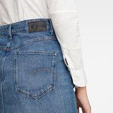 G-Star RAW® Joci Skirt Ripped edge Skirt Medium blue