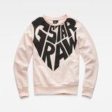 G-Star RAW® Sudadera Rosa model front