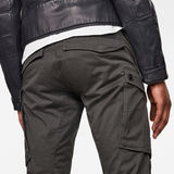 G-Star RAW® 3D Cargo Straight Tapered Pant Grey model back zoom