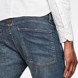 G-Star RAW® Jean 5620 3D Zip Knee Skinny Bleu foncé