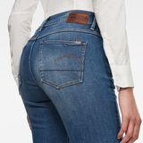 G-Star RAW® Jean 3301 Mid Wasit Bootleg Bleu moyen