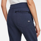 G-Star RAW® 3D Tapered Cropped Sweat Pants Medium blue model back zoom