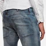 G-Star RAW® 5620 3D Zip Knee Skinny Jeans Lichtblauw