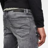 G-Star RAW® 3301 Denim Slim Shorts Schwarz model back zoom