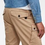 G-Star RAW® Roxic Shorts Brown model back zoom