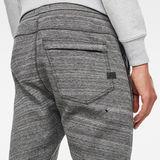G-Star RAW® Citishield Slim Tapered Sweatpants Black model back zoom