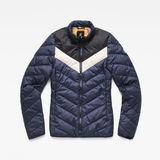 G-Star RAW® Alaska Padded Down Jacket Dark blue flat front