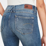 G-Star RAW® Lynn Mid Super SkinnyJeans Medium blue packshot