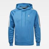 G-Star RAW® Side Stripe Hooded Sweater Medium blue