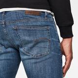 G-Star RAW® Jean 3301 Deconstructed Skinny Bleu moyen