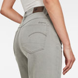 G-Star RAW® 3301 High Straight 90's Ankle Colored Jeans Grey