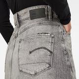 G-Star RAW® 3301 A-line Midi Ripped Edge Skirt Grey