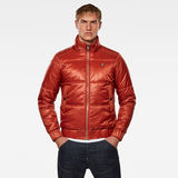 G-Star RAW® Meefic Quilted Jacket Orange model front