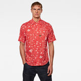 G-Star RAW® Bristum 1-Pocket Service Straight Shirt Red