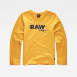 G-Star RAW® T-Shirt Jaune