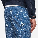 G-Star RAW® Vetar Chino Shorts Dark blue model back zoom