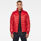 G-Star RAW® Light Padded Jacket Red model front