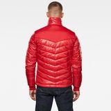 G-Star RAW® Light Padded Jacket Red model back