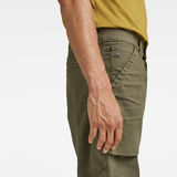 G-Star RAW® Fatigue Relaxed Tapered Pants Green model back zoom