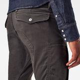 G-Star RAW® Flight Cargo 3D Skinny Pants Grey model back zoom
