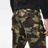 G-Star RAW® Roxic straight tapered cargo pant Green model back zoom