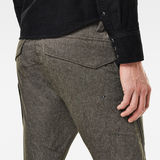 G-Star RAW® Citishield 3D Cargo Slim Tapered Jeans Grey model back zoom