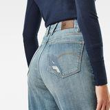 G-Star RAW® Janeh Ultra High Mom Ankle Jeans Mittelblau