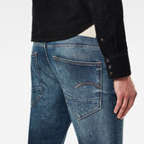 G-Star RAW® Morry 3D Relaxed Tapered Selvedge Jeans Medium blue