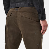 G-Star RAW® Citishield 3D Slim Tapered Cargo Pants Grey model back zoom