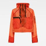G-Star RAW® E Windbreaker Orange model side