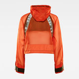 G-Star RAW® E Windbreaker Orange flat back