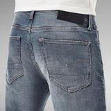 G-Star RAW® 3301 Denim Slim Shorts Donkerblauw