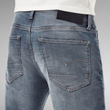 G-Star RAW® Short Denim Slim 3301 Bleu foncé