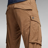 G-Star RAW® Rovic Zip 3D Straight Tapered Pants Brown