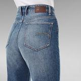 G-Star RAW® Janeh Ultra High Mom Ankle Jeans Medium blue