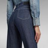 G-Star RAW® Tedie Ultra High Long Straight Jeans C Dark blue