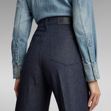 G-Star RAW® Deck Ultra High Wide Leg Jeans Dunkelblau