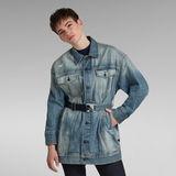 G-Star RAW® 3301 XXL Boyfriend Jacket Light blue