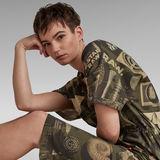 G-Star RAW® Adjustable Waist Allover Dress Multi color