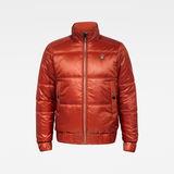 G-Star RAW® Meefic Quilted Jacket Orange flat front