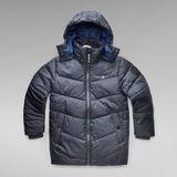 G-Star RAW® Whistler quilted Jacket Dark blue