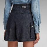 G-Star RAW® Jupe-Short High Bleu foncé