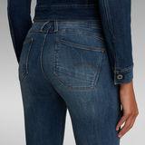 G-Star RAW® Lynn D-Mid Waist Super Skinny Jeans Mittelblau