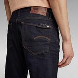 G-Star RAW® 3301 Regular Tapered Jeans Donkerblauw