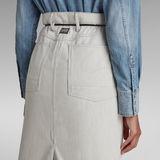 G-Star RAW® Lintell Midi Skirt Beige